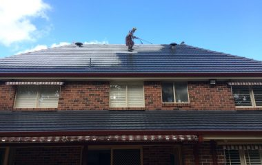 Pressure Roof Cleaning