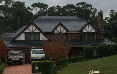 Roof Cleaning & Painting- Top View Roofing