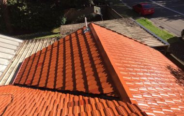 Clay Roof Painting after