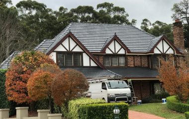 Roof Restoration and painting sydney